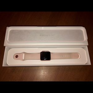 Series 2 Apple Watch w/ Charger & Case